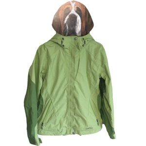 Eddie Bauer WeatherEdge 365 Hooded Lime Green Coat